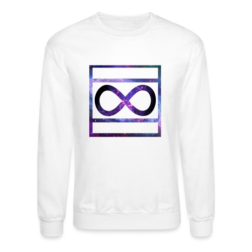 Infinity Album by Deathy box logo - Crewneck Sweatshirt