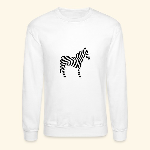 Zebra T - Crewneck Sweatshirt