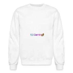 Tier I (2) Designer 1G Logo. - Crewneck Sweatshirt
