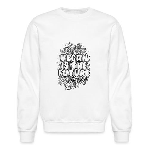 Vegan is the future - Crewneck Sweatshirt