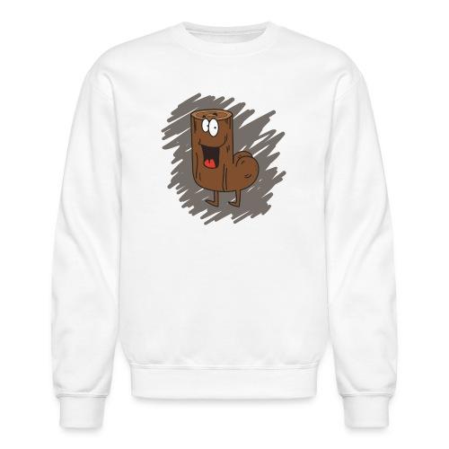 Loganus - Bum scribble - Crewneck Sweatshirt