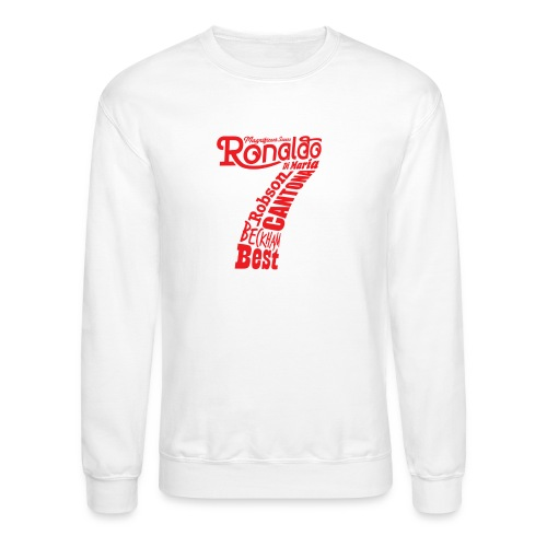 man utd magnificent sevens - Crewneck Sweatshirt