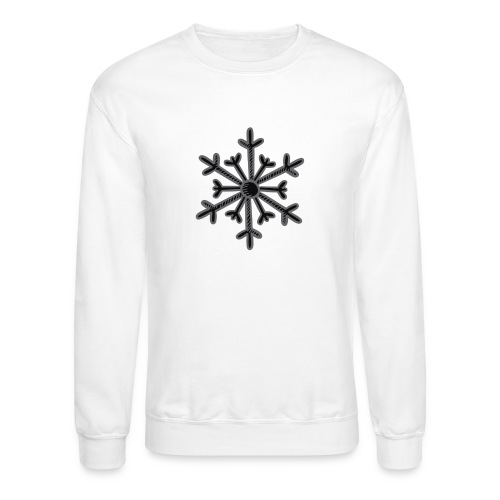 BLACK SNOWFLAKE - Crewneck Sweatshirt