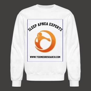 TEXMED RESEARCH SLEEP APNEA EXPERTS - Crewneck Sweatshirt