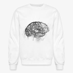 Brain Illustration - Crewneck Sweatshirt