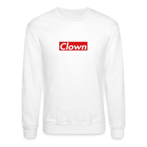 halifax clown sup - Crewneck Sweatshirt