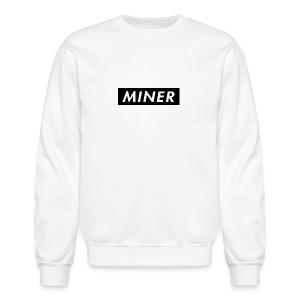 Miner Box Logo - Crewneck Sweatshirt