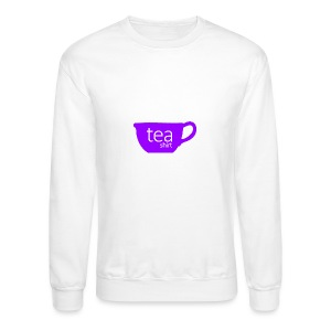 Tea Shirt Simple But Purple - Crewneck Sweatshirt