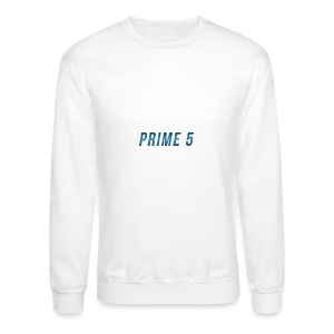 Prime 5 Text Logo - Crewneck Sweatshirt