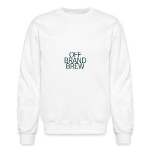 OFF BRAND BREW BLACK STACK LOGO - Crewneck Sweatshirt