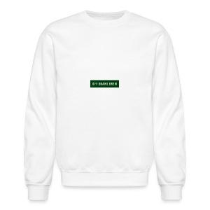 OFF BRAND BREW GREEN LOGO - Crewneck Sweatshirt