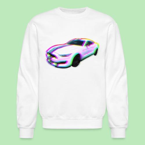 Mustang Glitch - Crewneck Sweatshirt
