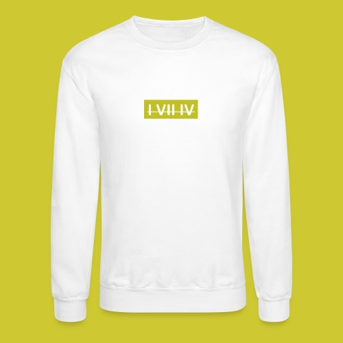 Yellow Box Logo Sweatshirt - Crewneck Sweatshirt