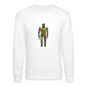 Cartoon Robocop in Color - Crewneck Sweatshirt