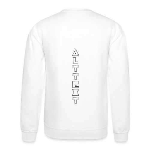 A T - BUBBLEGUM | Alternative Text co. - Crewneck Sweatshirt