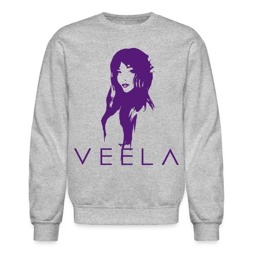 Veela Women's Scoop Lavender Ink - Crewneck Sweatshirt
