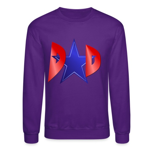 Blue Star Dad - Crewneck Sweatshirt