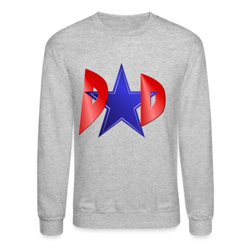 Blue Star Dad - Crewneck Sweatshirt