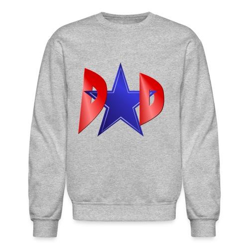 Blue Star Dad - Unisex Crewneck Sweatshirt