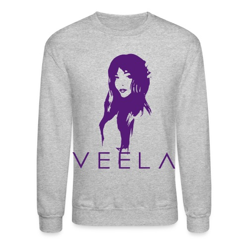 Veela Women's Scoop Lavender Ink - Unisex Crewneck Sweatshirt
