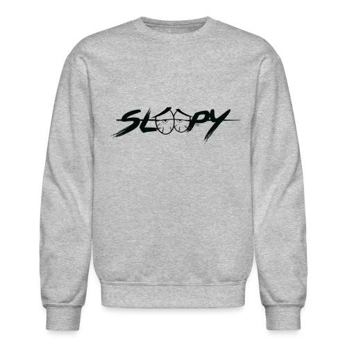 Sleepy Logo Black - Unisex Crewneck Sweatshirt
