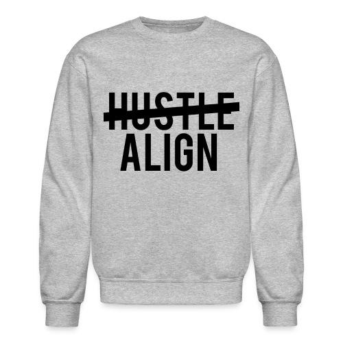 hustlealign - Unisex Crewneck Sweatshirt