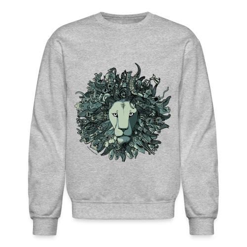 Grey Lion - Crewneck Sweatshirt