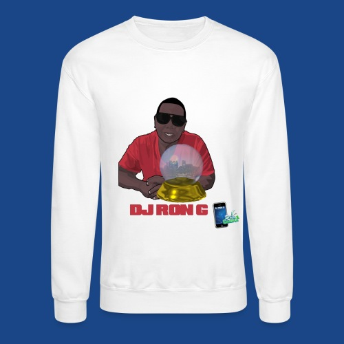 DJ RON G crystal-ball - Crewneck Sweatshirt