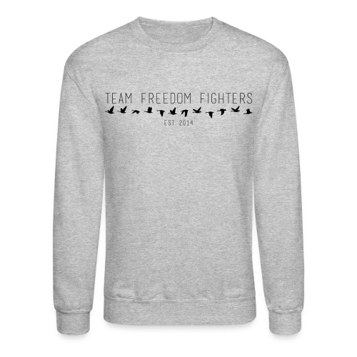 team freedom fighters log - Crewneck Sweatshirt