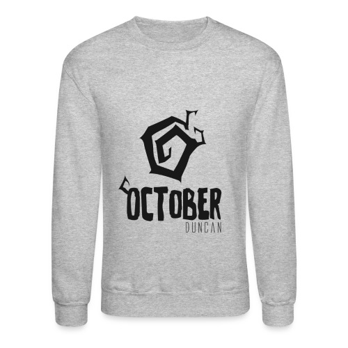 October Duncan2 01 png - Unisex Crewneck Sweatshirt