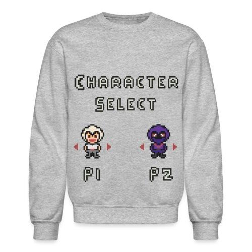 Character Select - Unisex Crewneck Sweatshirt