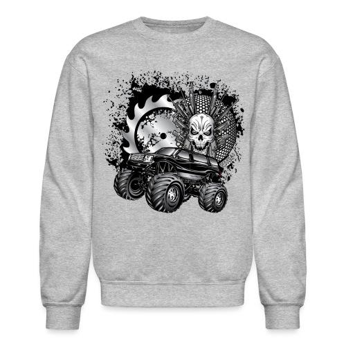 Metallic Monster Truck - Crewneck Sweatshirt
