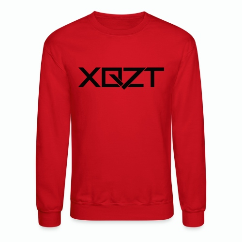 #XQZT Logo Ultra Noir - Unisex Crewneck Sweatshirt
