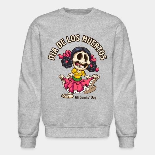 dia de los muertos - Unisex Crewneck Sweatshirt