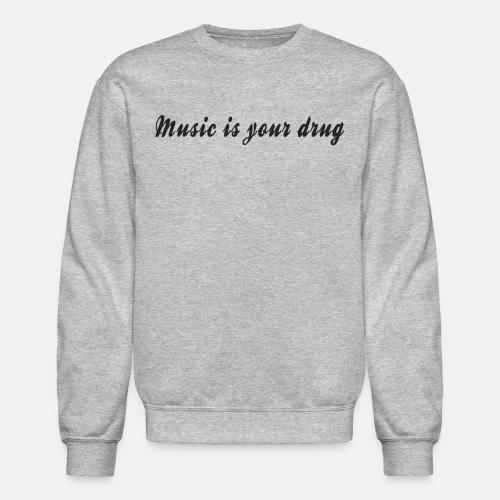 magical_music_text_dark - Crewneck Sweatshirt
