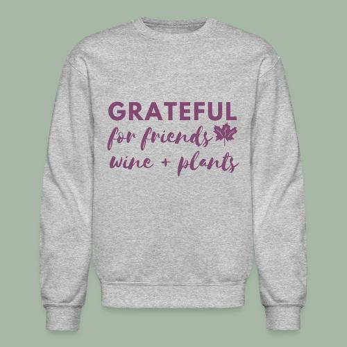 Grateful - Unisex Crewneck Sweatshirt