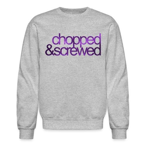 chopped screwed png - Unisex Crewneck Sweatshirt