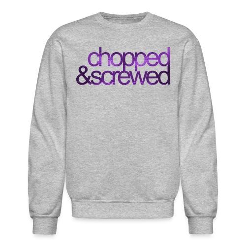 chopped screwed png - Crewneck Sweatshirt