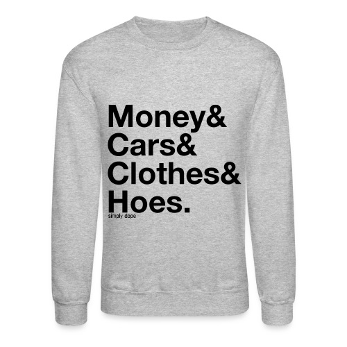 Money Cars - Crewneck Sweatshirt