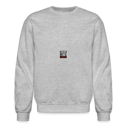 straight outta sheeps - Crewneck Sweatshirt