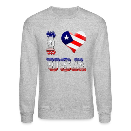 I Love USA - Crewneck Sweatshirt