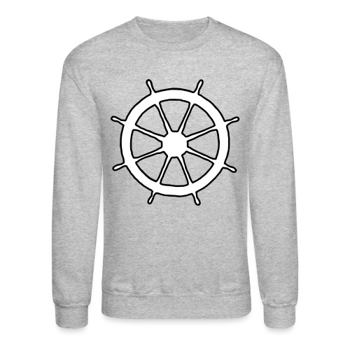 Steering Wheel Sailor Sailing Boating Yachting - Unisex Crewneck Sweatshirt