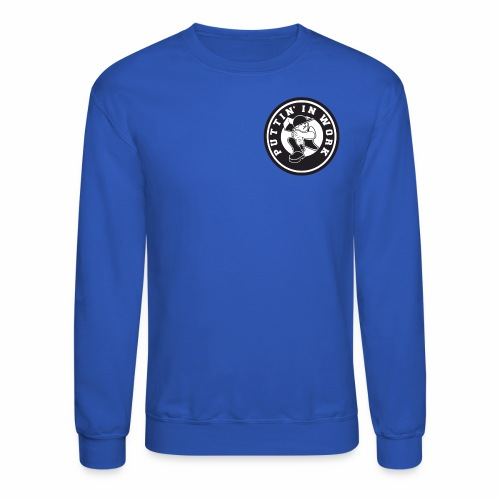 Solid Puttin' In Work Logo - Crewneck Sweatshirt