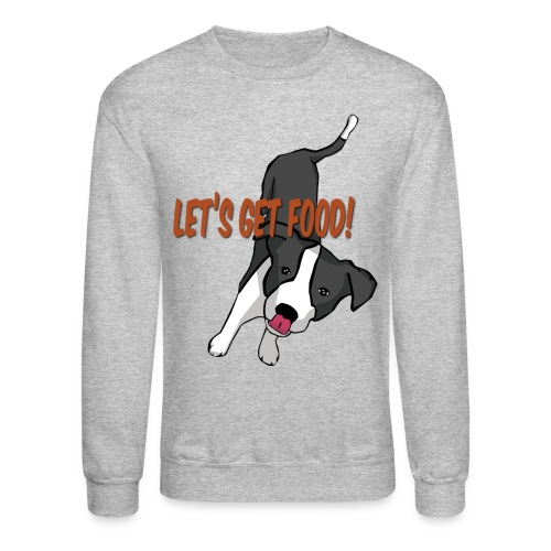 Foodie Dog Border Collie - Crewneck Sweatshirt