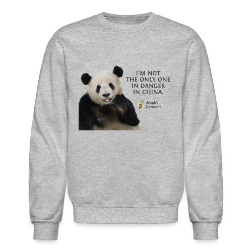 Endangered Pandas - Unisex Crewneck Sweatshirt