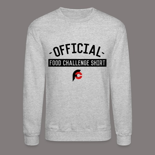 Official Food Challenge Shirt 2 - Unisex Crewneck Sweatshirt