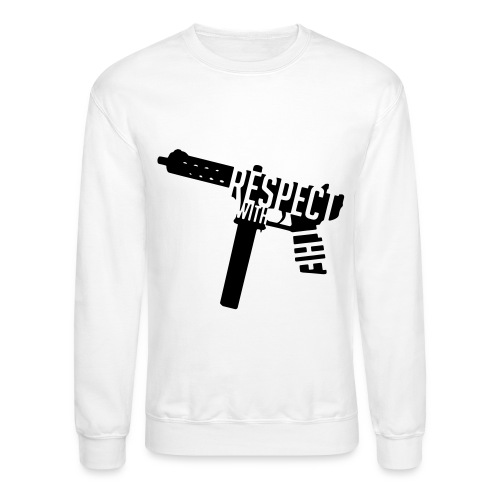 Respect With The Tech - Unisex Crewneck Sweatshirt