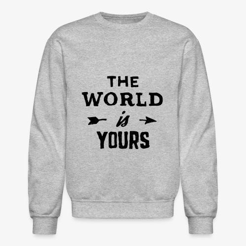 the world - Unisex Crewneck Sweatshirt