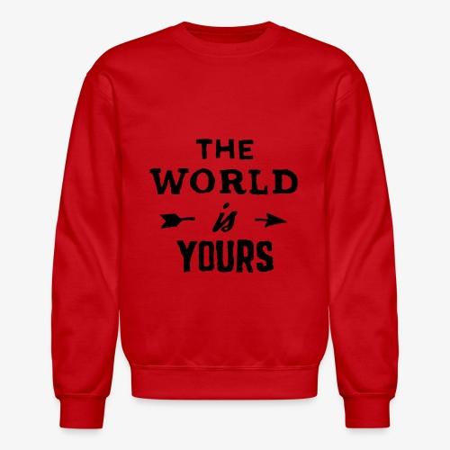 the world - Crewneck Sweatshirt