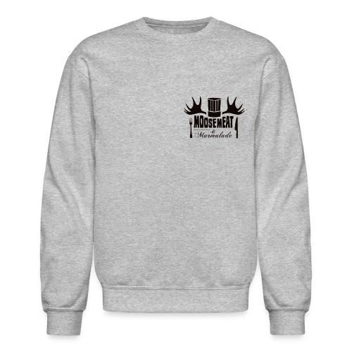 MandM Logo 2BLACK png - Crewneck Sweatshirt